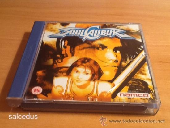 Soulcalibur Soul Calibur Juego Para Sega Dreamc Comprar