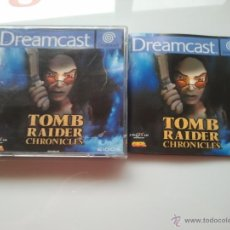 Videojogos e Consolas: JUEGO PARA LA SEGA DREMCAST TOMB RAIDER. Lote 41256209