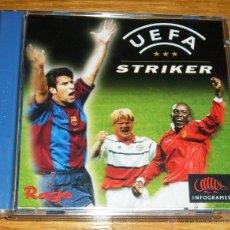 Videojuegos y Consolas: UEFA STRIKER DREAMCAST. Lote 41270885