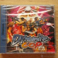 Videojuegos y Consolas: DYNAMITE COP DREAMCAST PAL ESPAÑA NUEVO PRECINTADO. Lote 51389045