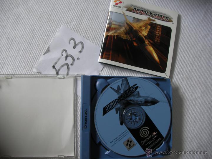 ANTIGUO JUEGO DREAMCAST DEADLY SKIES (Juguetes - Videojuegos y Consolas - Sega - DreamCast)