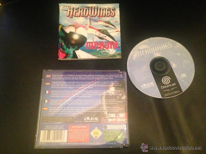 AEROWINGS JUEGO SEGA DREAMCAST (Juguetes - Videojuegos y Consolas - Sega - DreamCast)
