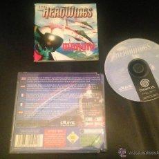 Videojuegos y Consolas: AEROWINGS JUEGO SEGA DREAMCAST. Lote 54620853