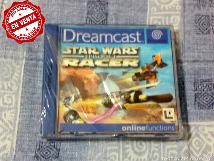 Video Juego Star Wars Racer Para Sega Dreamcast Comprar
