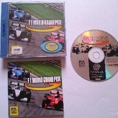 Videojuegos y Consolas: JUEGO COMPLETO F1 WORLD GRAND PRIX SEGA DREAMCAST PAL ESPAÑA Y OTROS IDIOMAS.. Lote 57789867