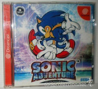SONIC ADVENTURE [SONIC TEAM] [1998] [NTSC JAPAN ] [SEGA DREAMCAST] (Juguetes - Videojuegos y Consolas - Sega - DreamCast)
