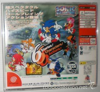 Videojuegos y Consolas: Sonic Adventure [Sonic Team] [1998] [NTSC Japan ] [SEGA DreamCast] - Foto 2 - 58301249
