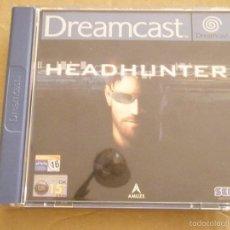 Videojuegos y Consolas: JUEGO DREAMCAST HEADHUNTER COMO NUEVO. Lote 58470781