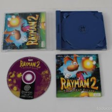 Videojuegos y Consolas: RAYMAN 2, THE GREAT ESCAPE. PAL JUEGO SEGA DREAMCAST, UBI SOFT.. Lote 61102999