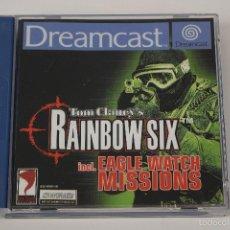 Videojuegos y Consolas: TOM CLANCY´S RAINBOW SIX. JUEGO SEGA DREAMCAST, PAL. COMPLETO. Lote 61103615