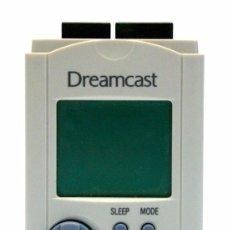 Videojuegos y Consolas: SEGA DREAMCAST UNIDAD VMU VISUAL MEMORYA CARD ORIGINAL MAGNIFICO ESTADO R3521. Lote 217251196