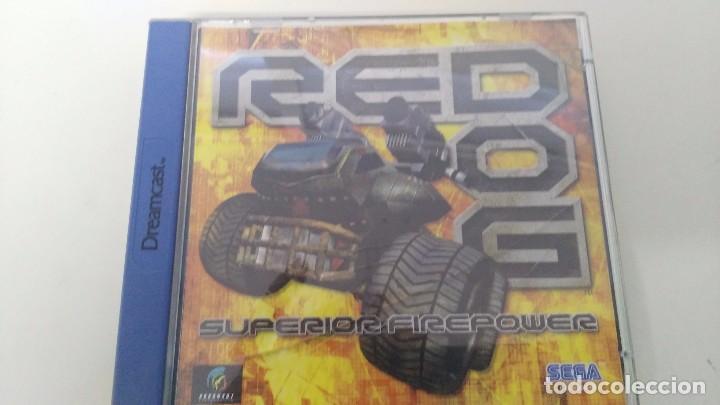 Juego Para Consola Sega Dreamcast Red Dog Comprar Videojuegos Y