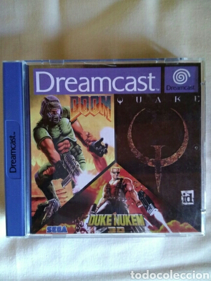 Quake doom y duke nukem 3d para dreamcast PAL