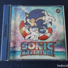 Videojuegos y Consolas: SONIC ADVENTURE PAL DE ESPAÑA DREAMCAST. Lote 83379484