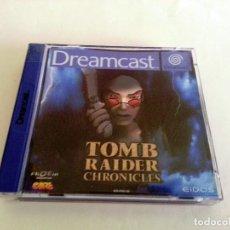 Videojuegos y Consolas: TOMB RAIDER CHRONICLES PAL DE ESPAÑA DREAMCAST. Lote 83379624