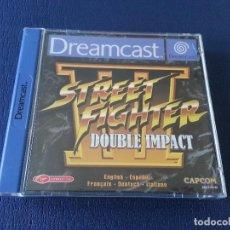 Videojuegos y Consolas: STREET FIGHTER III DOUBLE IMPACT PAL DE ESPAÑA DREAMCAST. Lote 83379848