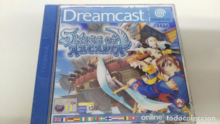 Juego Para La Sega Dreamcast Skies Of Arcadia Comprar Videojuegos
