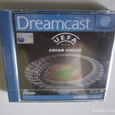 Videojuegos y Consolas: UEFA DREAM SOCCER DREAMCAST NUEVO. Lote 97711271