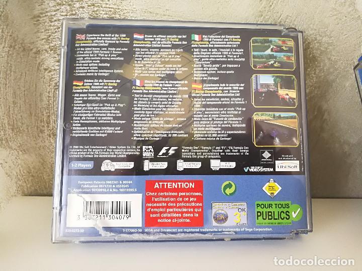 Videojuegos y Consolas: LOTE DREAMCAST JET SET RADIO RAYMAN 2 F1 - Foto 3 - 100368351
