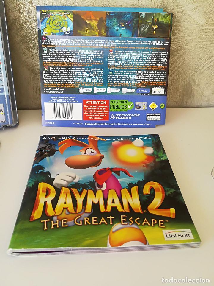 Videojuegos y Consolas: LOTE DREAMCAST JET SET RADIO RAYMAN 2 F1 - Foto 6 - 100368351