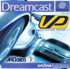 Videojuegos y Consolas: VP VANISHING POINT DREAMCAST - NUEVO. Lote 101635147