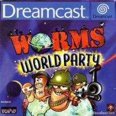 Videojuegos y Consolas: WORMS WORLD PARTY DREAMCAST - NUEVO. Lote 101635411