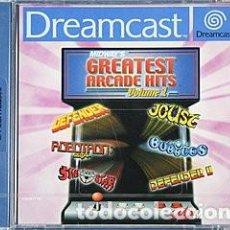 Videojuegos y Consolas: MIDWAY´S GREATEST ARCADE HITS DREAMCAST - NUEVO. Lote 101635743