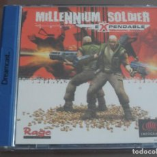 Videojuegos y Consolas: MILLENNIUM SOLDIER EXPENDABLE. Lote 103194903