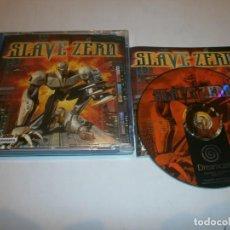 Videojuegos y Consolas: SLAVE ZERO DREAMCAST PAL ESPAÑA COMPLETO . Lote 103578939