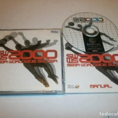 Videojuegos y Consolas: SEGA WORLD WIDE SOCCER DREAMCAST PAL ESPAÑA COMPLETO . Lote 103579139