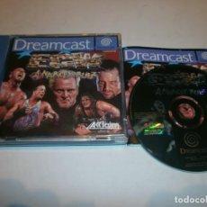 Videojuegos y Consolas: ECW ANARCHY ROLZ DREAMCAST PAL ESPAÑA COMPLETO . Lote 103579399