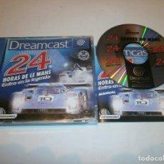 Videojuegos y Consolas: 24 HORAS DE LE MANS DREAMCAST PAL ESPAÑA COMPLETO . Lote 103579631