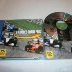 Videojuegos y Consolas: F1 WORLD GRAND PRIX DREAMCAST PAL ESPAÑA COMPLETO . Lote 103579771