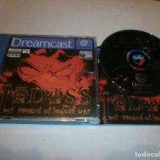 Videojuegos y Consolas: RECORD OF LODOSS WAR DREAMCAST PAL ESPAÑA COMPLETO . Lote 103579891