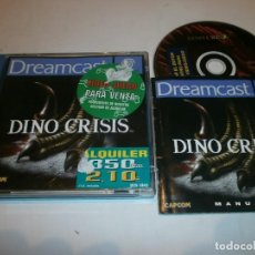 Videojuegos y Consolas: DINO CRISIS DREAMCAST PAL ESPAÑA COMPLETO . Lote 103580387