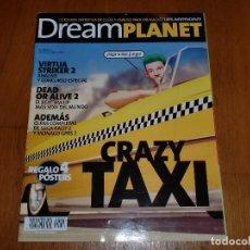 Videojuegos y Consolas: REVISTA DREAMPLANET - CRAZY TAXI - COLECCIONISTAS. Lote 108685538