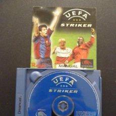 Videojuegos y Consolas: JUEGO - SEGA - DREAMCAST - UEFA STRIKER. Lote 106533147