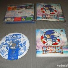 Videojuegos y Consolas: SONIC ADVENTURE - DREAMCAST - EDICION MK-51000-53 - SEGA. Lote 109590987