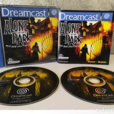 Videojuegos y Consolas: ALONE IN THE DARK DREAMCAST COMPLETO. Lote 118063663