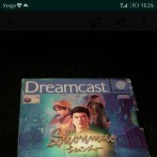 Videojuegos y Consolas: JUEGO SHENMUE DREAMCAST. Lote 118159051