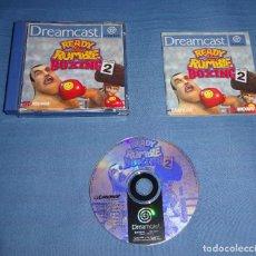 Videojuegos y Consolas: JUEGO SEGA DREAMCAST - READY 2 RUMBLE BOXING: ROUND 2 - COMPLETO - PAL ESPAÑA. Lote 119044963