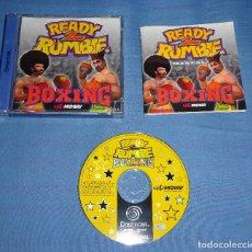 Videojuegos y Consolas: JUEGO SEGA DREAMCAST - READY 2 RUMBLE BOXING - COMPLETO - PAL ESPAÑA. Lote 119045015