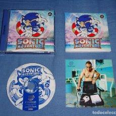 Videojuegos y Consolas: JUEGO SEGA DREAMCAST - SONIC ADVENTURE - COMPLETO - PAL ESPAÑA. Lote 119045059