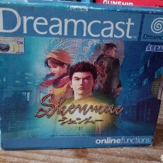 Videojuegos y Consolas: SHENMUE SEGA DREAMCAST DISCOS COMO NUEVOS. Lote 119091676