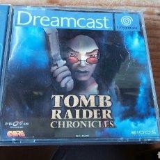 Videojuegos y Consolas: TOMB RAIDER CHRONICLES SEGA DREAMCAST. Lote 119092019