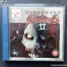Videojuegos y Consolas: NIGHTMARE CREATURES II + RAINBOWSIX. DREAMCAST. Lote 136749512