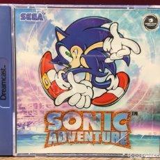 """Videojuegos y Consolas: SEGA DREAMCAST """" SONIC ADVENTURES """". Lote 121711190"""