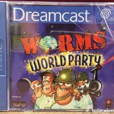 """Videojuegos y Consolas: SEGA DREAMCAST """" WORMS WORLD PARTY """". Lote 121711920"""