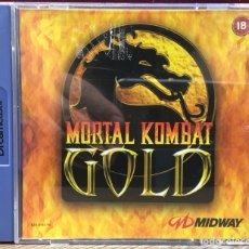 """Videojuegos y Consolas: SEGA DREAMCAST """" MORTAL KOMBAT GOLD """". Lote 121713807"""