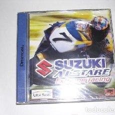 Videojuegos y Consolas: SEGA DREAMCAST JUEGO SUZUKI ALSTARE EXTREME RACING COMPLETO. Lote 132706178
